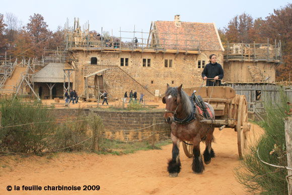 guedelon-attelage